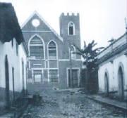 Antiguo Templo en el Barrio Finlay, Tegucigalpa